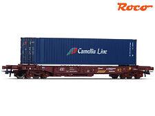 """Roco 76751 H0 Einheitstaschenwagen """"Camellia Line"""" ++ NEU & OVP ++"""