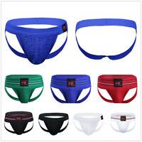 Mens Open Back Sports Jockstrap Gym Supporter G-string Underwear Briefs Shorts