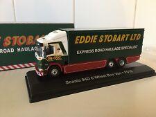 Oxford/atlas-Scania 94D Eddie Stobart-escala 1/76 - Ferrocarril de calibre 00