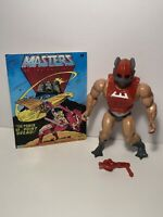 1982 Mattel Masters of the Universe Vintage He-Man MOTU Zodac 💯Complete + Comic
