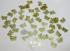 *Wedding Table Scatters*Foil Confettii I Love You - Gold