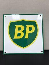 BP oil  gasoline racing vintage advertising sign