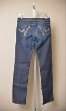 Citizens of Humanity Ava Straight Jeans Low Rise Dark Wash Denim Women's size 29