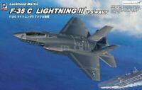 Pit road 1/144 F-35C Lightning II US Navy SN17 109mm plastic 4986470016733