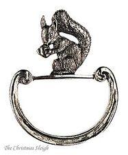 Kühn German Pewter Napkin Ring Napkin Holder - Squirrel Eichhorn