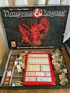 Dungeons and Dragons Board Game - 1070, 1990's - BOXED