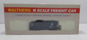 Walthers 932-8506 N Scale Santa Fe Russell Snow Plow #199396 EX/Box