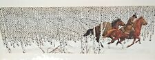 SACRED GROUND by Bev Doolittle. Limited Edition Print #57331/69996, Signed