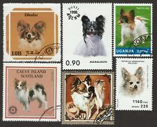 Papillon * Int'l Dog Postage Stamp Art Collection * Great Gift Idea *