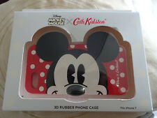 iphone 7 Disney Mickey Mouse 3D rubber phone case by Cath Kidston BNIB was £25