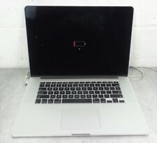 Apple MacBook Pro A1398 Laptop Intel Core i7-4750HQ 2.0 GHz 8 GB RAM NO HDD