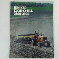 Case-IH Soil Conditioning Sales Brochure-Good Condition-Free Domestic shipping