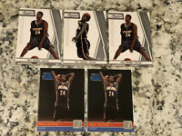 Paul George Rookie Lot 5 Cards Prestige X3 Donruss Rated Rookie Card X2
