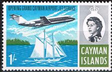 British Cayman Islands Aviation Aircraft ove Yacht stamp 1978 MLH