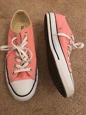 CONVERSE Light Pink Chuck Taylor Tennis Shoes 8 Mens 10 Women Discontinued Color