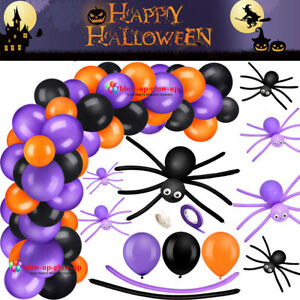 Halloween Balloons BOO LONG MAGIC Balloon Garland Trick Treat Party Decor Theme