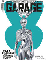JEFF KOONS Cara Delevinge Garage Magazine London Limited Ed. 2014 Fall Winter #7