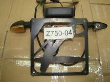 KAWASAKI Z750  04 05 06 z1000 porta targa regolabile valter moto