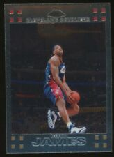 2007-08 Topps Chrome LeBron James Cleveland Cavaliers RC Rookie