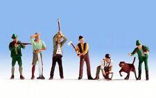 Figuren Noch H0 (15060): Jäger und Holzfäller