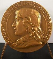 Medaille Denis Papin s Daniel Dupuis à Marie-Marthe Antoine Industrie des métaux