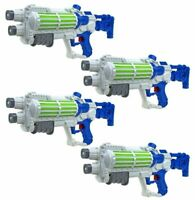 4 x WATER GUN WHITE STAR GALAXY WARS STORMTROOPER PUMP ACTION SHOOTERS 940