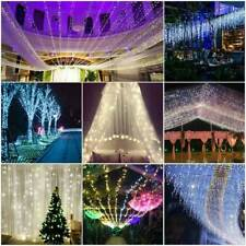 100Led 10M Christmas Tree Fairy String Party Light Wedding Waterproof Lamp White