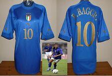ITALY football shirt home 2003/04 R.Baggio Puma Juventus Brescia Serie A used XL