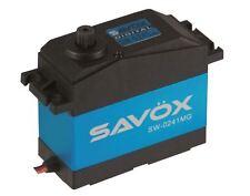 Savox Waterproof 5Th Scale Digital Servo .17/555 High Voltage - Savsw0241Mg