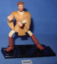 "Star Wars 2005 OBI-WAN KENOBI Clone Wars Animated Series 3.75""  Figure"