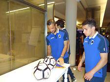 Sassuolo Sampdoria Ball Signed Quagliarella Schick Praet Linetty Dodò Alvarez