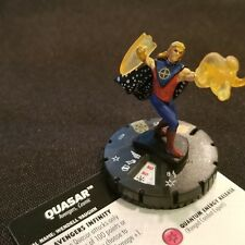 QUASAR - 037 -  SUPER  RARE Heroclix Avengers Infinity #37