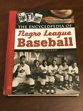 Encyclopedia Of Negro League Baseball Players Rare Signed by 8 Autograph Book
