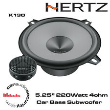 "Hertz UNO K130 - 13cm 5.25""  2 Way Car Audio Component Speakers 220W"