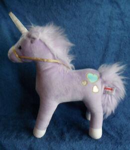 *2121* Gund - Bluebell – purple Unicorn - plush  42cm