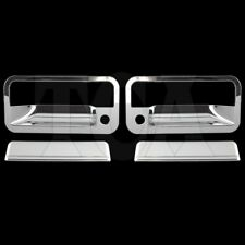 For 1988-1998 Chevy GMC C/K Pickup Yukon Suburban Chrome 2 Door Handle Covers