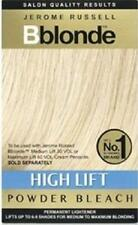 ** JEROME RUSSELL BBLONDE HIGH LIFT POWDER BLEACH PERMANENT LIGHTENER NEW**