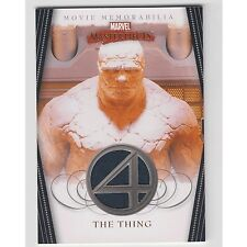 Marvel Masterpieces Series 2 costume card THE THING FF4 Fantastic FOUR Variant