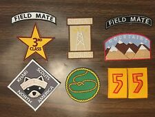 Moonrise Kingdom Iron on Khaki Scout Patch set, Wes Anderson