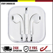 iPHONE IPAD IPOD IN EAR HEAD BUDS PHONES PODS ECOUTEUR  - MIC & VOLUME CONTROLS