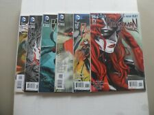 "2012 Batwoman TO DROWN THE WORLD ""Complete Set"" of 6 Comics (6-7-8-9-10-11) 1ST!"