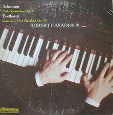ROBERT CASADESUS - SCHUMANN / BEETHOVEN  - LP