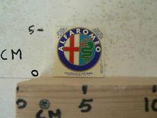 STICKER,DECAL ALFA ROMEO LOGO CAR AUTO DD