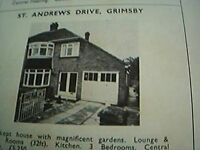 ephemera 1971 picture advert st andrew's drive grimsby