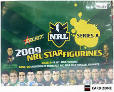 *2009 Select NRL Stars Figurines Factory Box A (25 Color + 5 Gold Figurines)