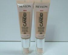 Revlon Candid Natural Finish Foundation #250 Vanilla 0.75 fl oz Lot of 2 New