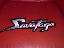 Savatage Patch Backpatch Shape Heavy Metal