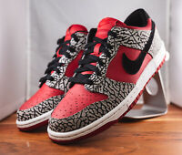 "Nike ID Dunk Low ""Supreme"" Red 628307-991"