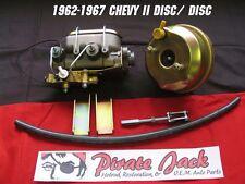 1962-1967 Chevy II Nova Power Brake Booster Conversion for Disc Disc