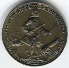 England 1739 standing Admiral Vernon Portobello Betts 230 39mm